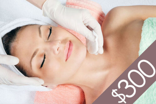 Denver Skin Care Clinic and Medical Spa $300 Gift Certificate gc f300 bg 500x333