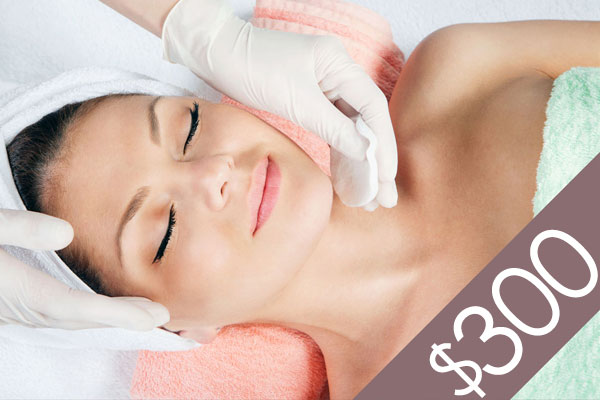 Denver Skin Care Clinic and Medical Spa $300 Gift Certificate gc f300 bg