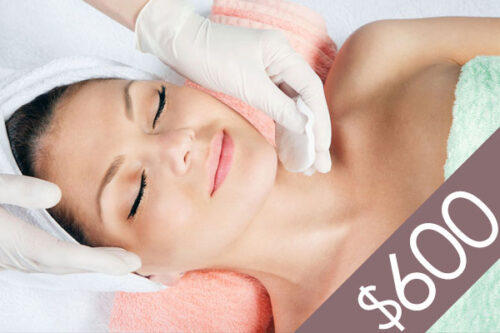 Denver Skin Care Clinic and Medical Spa $600 Gift Certificate gc f600 bg 500x333