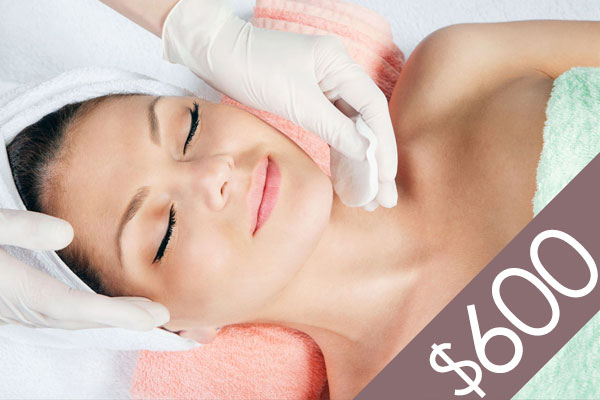 Denver Skin Care Clinic and Medical Spa $600 Gift Certificate gc f600 bg